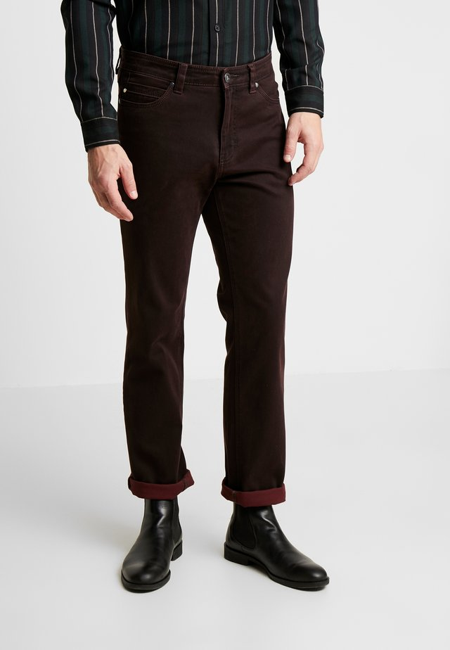 RANGER POCKET - Tygbyxor - dark red