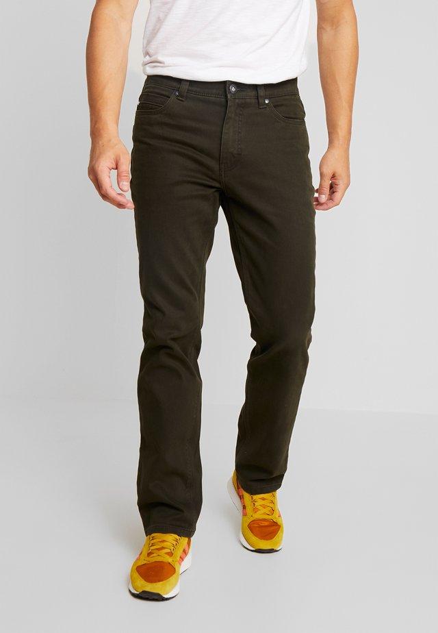 RANGER POCKET - Spodnie materiałowe - olive