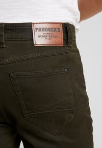 Paddock's - RANGER POCKET - Trousers - olive - 5