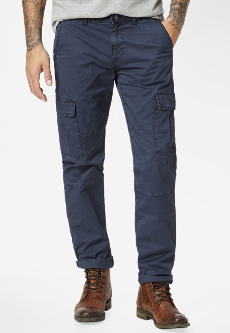 Paddock's - MURDOCK  - Cargo trousers - blue