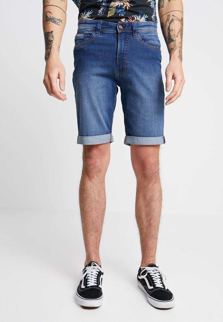 Paddock's - RANGER - Denim shorts - medium blue used