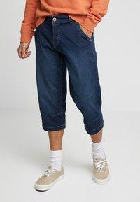 Paddock's - CHUCK - Denim shorts - dark blue used - 0