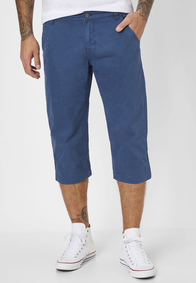 CHUCK - Denim shorts - indigo