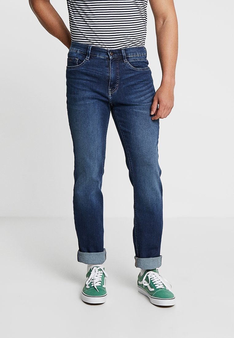 Paddock's - RANGER - Straight leg jeans - blue dark