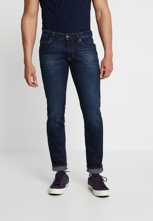 DEAN - Jeans Slim Fit - dark rinsed
