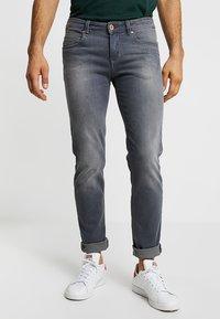 Paddock's - DEAN - Slim fit jeans - grey used - 0