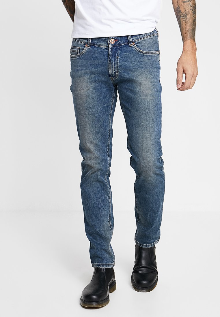 Paddock's - SCOTT - Slim fit jeans - medium blue antik washed