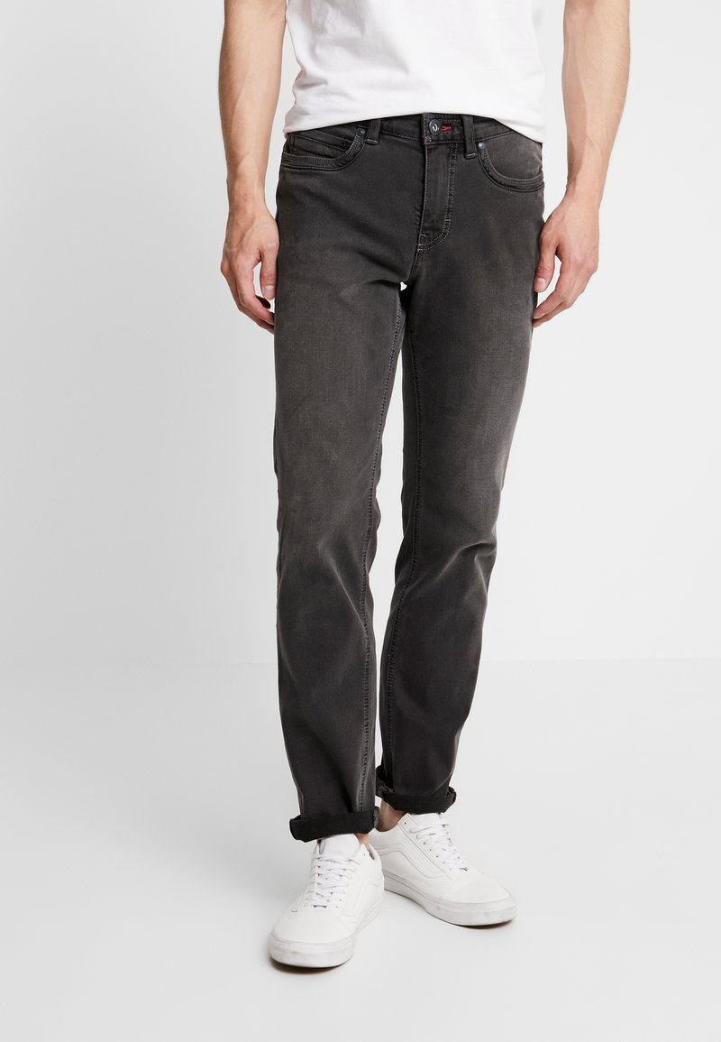 Paddock's - RANGER PIPE - Slim fit jeans - grey denim