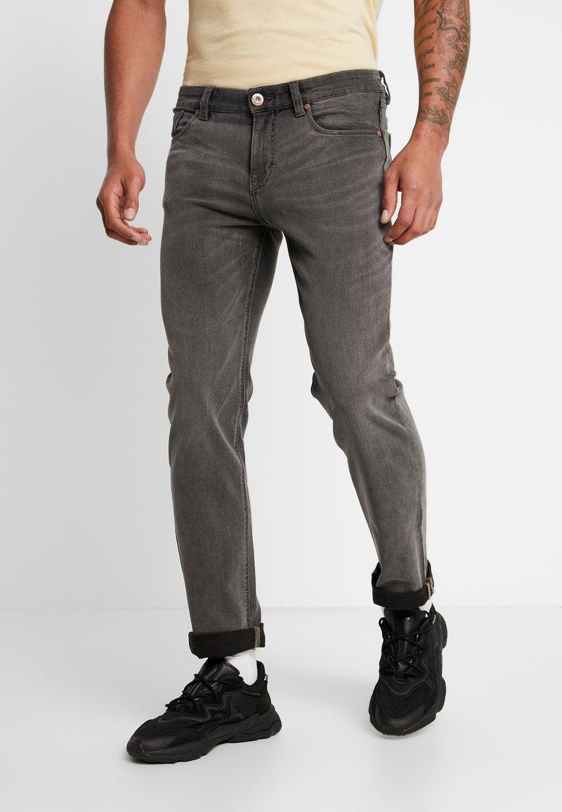 Paddock's - BEN MOTION COMFORT - Slim fit jeans - grey denim