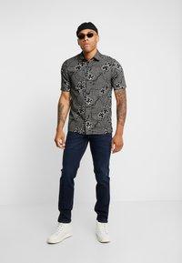 Paddock's - DEAN MOTION COMFORT - Slim fit jeans - dark stone used - 1