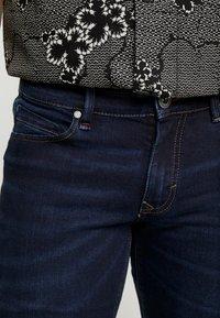 Paddock's - DEAN MOTION COMFORT - Slim fit jeans - dark stone used - 3