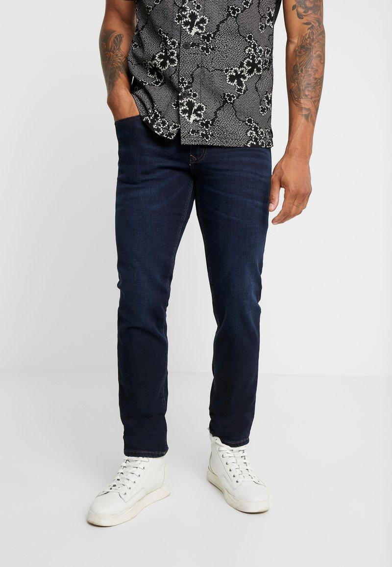 Paddock's - DEAN MOTION COMFORT - Slim fit jeans - dark stone used