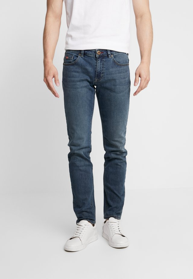 DEANVINTAGE - Jeans Slim Fit - medium stone