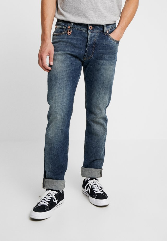 DUKE - Jeans Slim Fit - stone blue denim