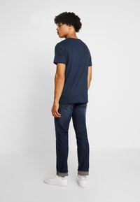 Paddock's - PINT - Print T-shirt - navy - 2