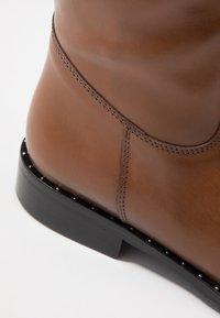 Pinto Di Blu - Høje støvler/ Støvler - cognac - 2