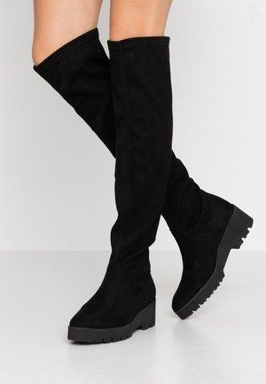 Botas mosqueteras - noir