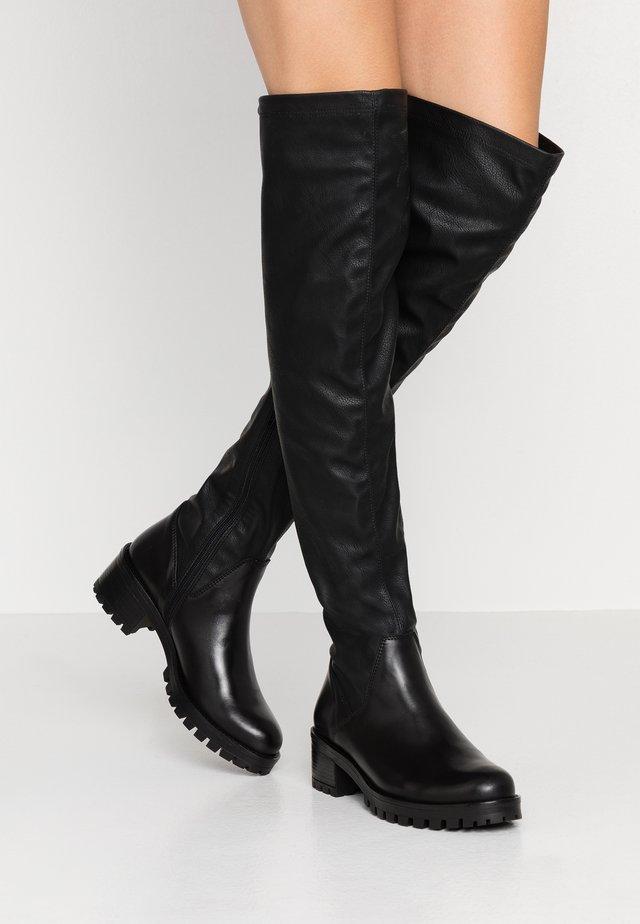 Overknees - noir