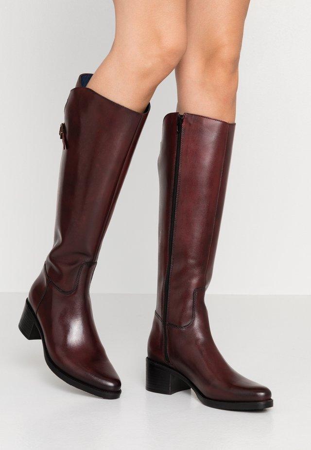Støvler - bordeaux
