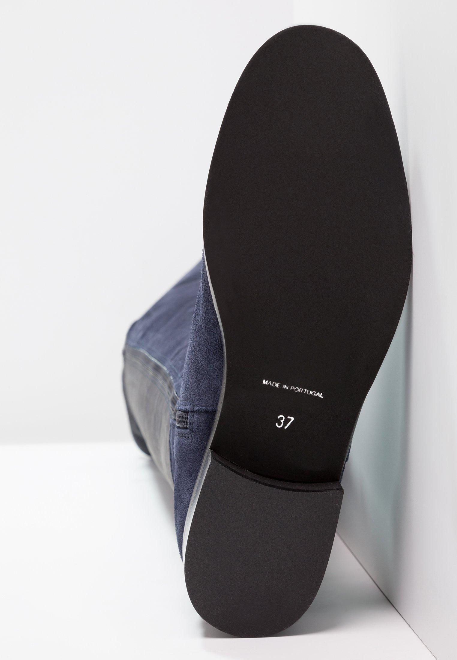 Overknee laarzen blue