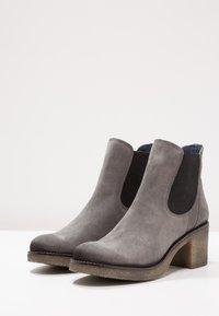 Pinto Di Blu - Ankelstøvler - grey - 3