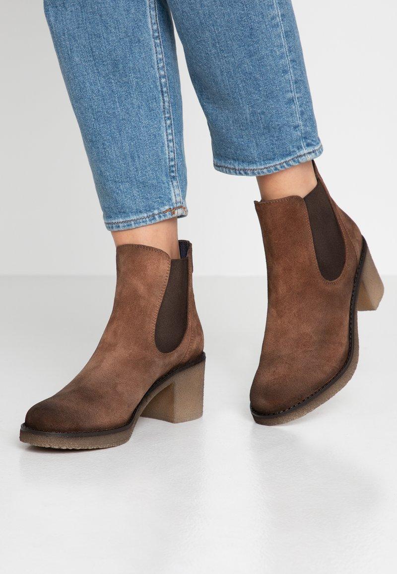 Pinto Di Blu - Ankle Boot - cognac