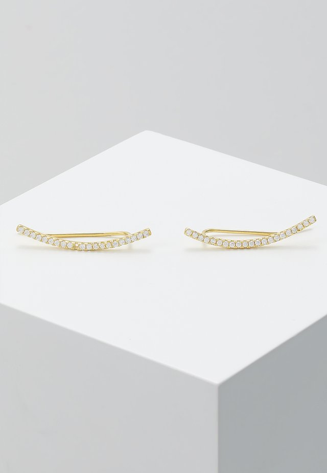 AMELIE EARRINGS - Øreringe - gold-coloured