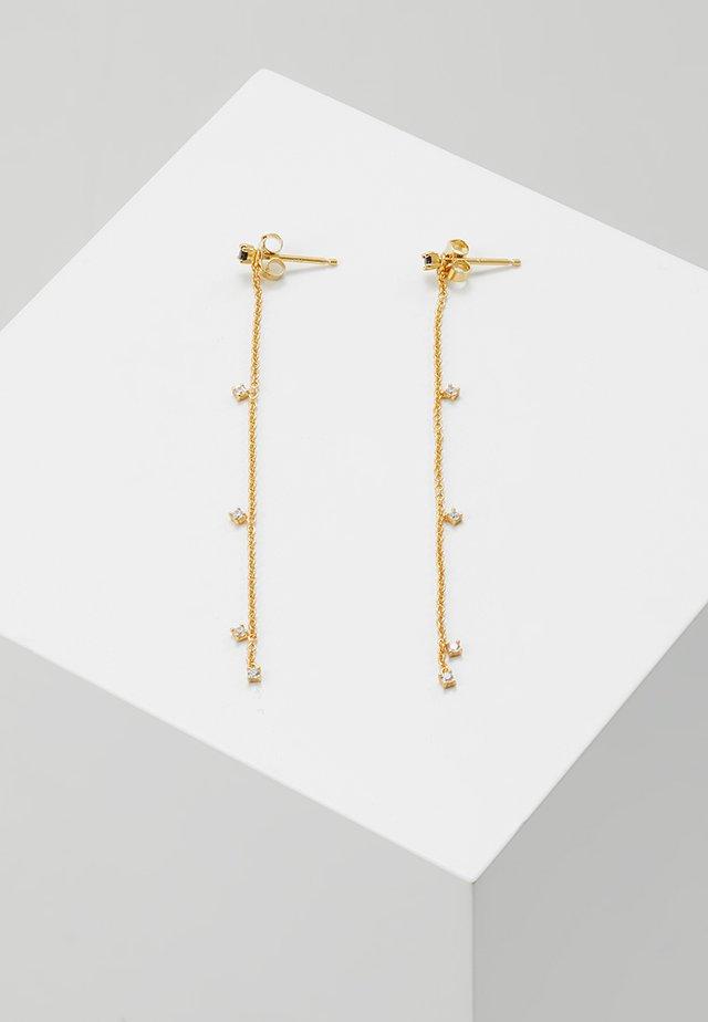 FIERCE  - Øreringe - gold-coloured