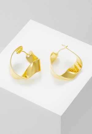 GRAVITY - Earrings - gold-coloured