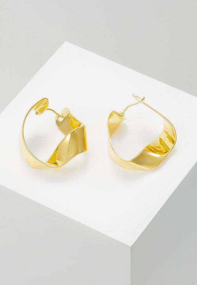GRAVITY - Oorbellen - gold-coloured