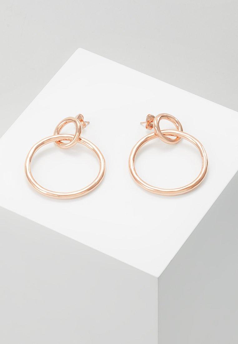 P D Paola - VALENTINA  - Boucles d'oreilles - rosegold-coloured