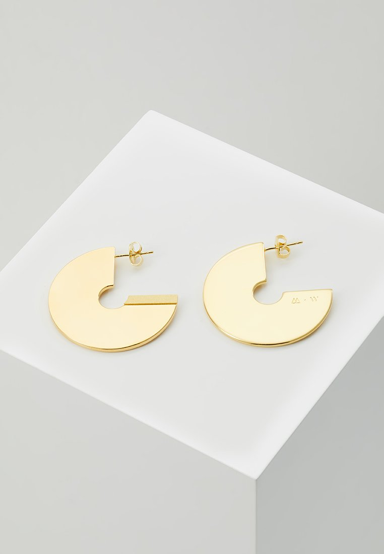 P D Paola - WOLFNOIR EARRINGS - Earrings - gold-coloured