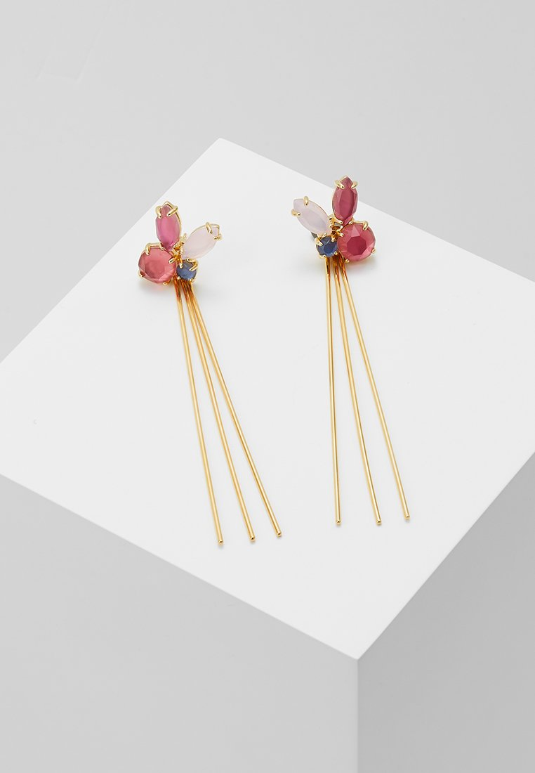 P D Paola - BLUEBERRY - Earrings - gold-coloured