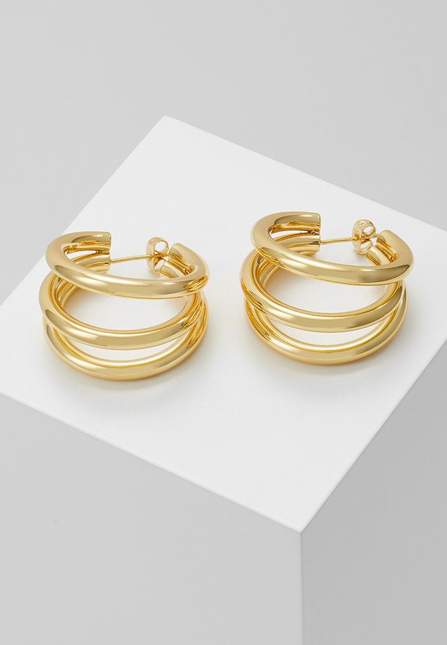 TRUE EARRINGS - Kolczyki - gold-coloured