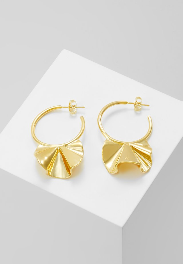 ENYA EARRINGS - Kolczyki - gold-coloured