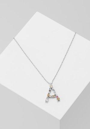 LETTER NECKLACE - Halskette - silver-coloured