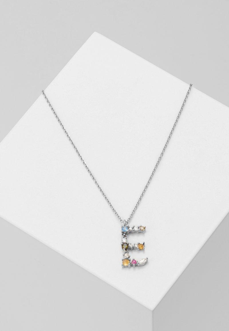 P D Paola - LETTER NECKLACE - Collana - silver