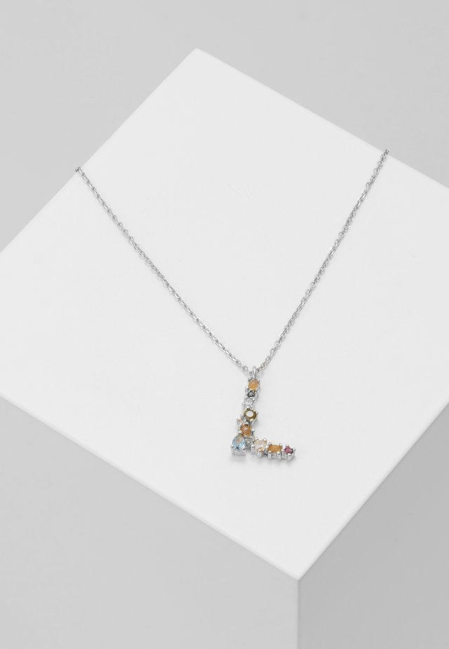 LETTER NECKLACE - Halskette - silver