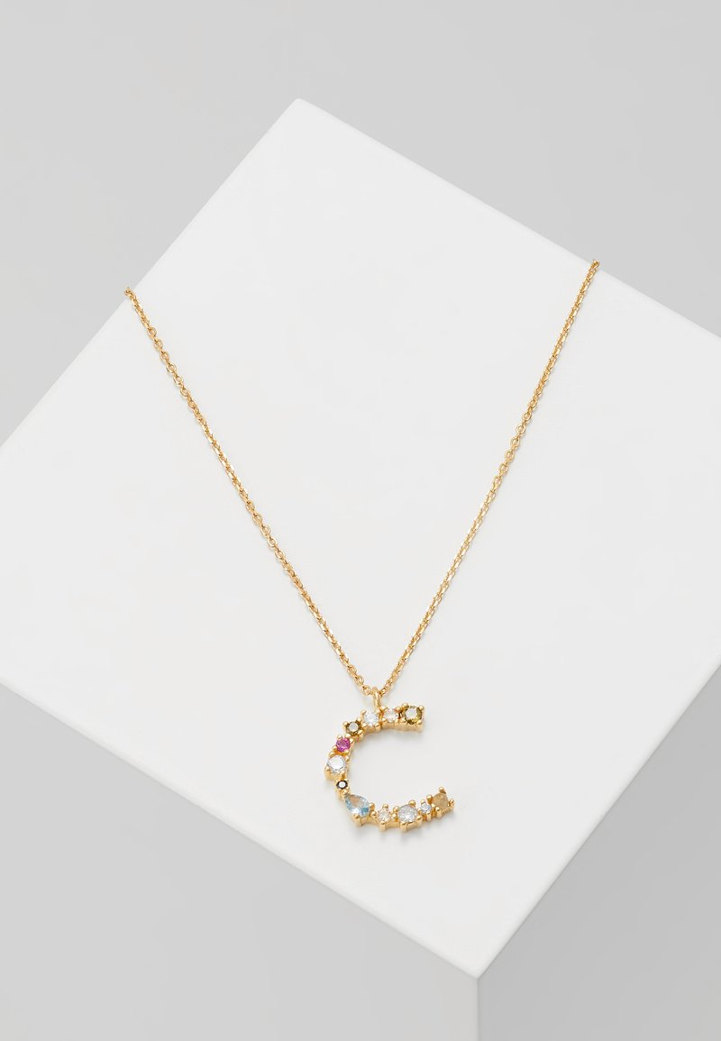 P D Paola - LETTER NECKLACE - Ketting - gold-coloured