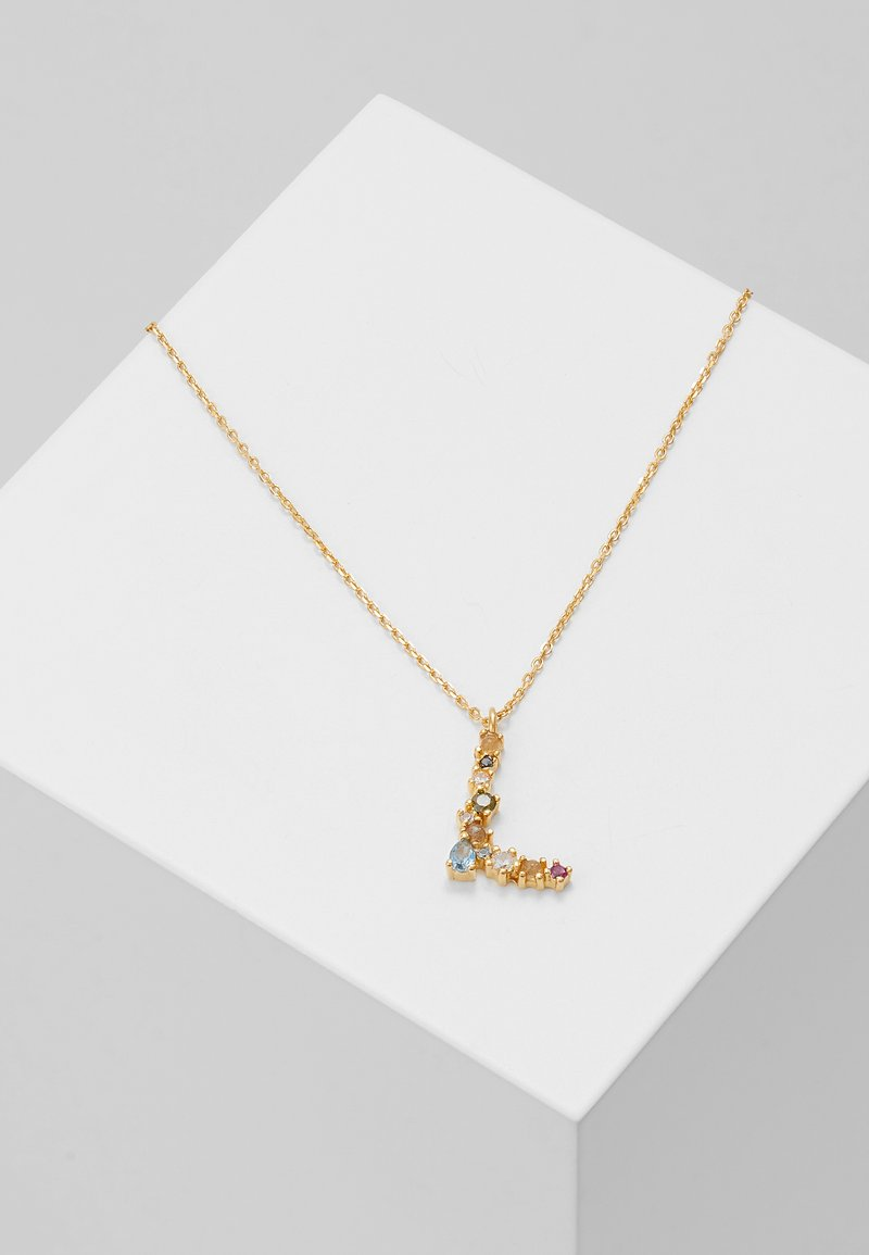 P D Paola - LETTER NECKLACE - Collar - gold-coloured