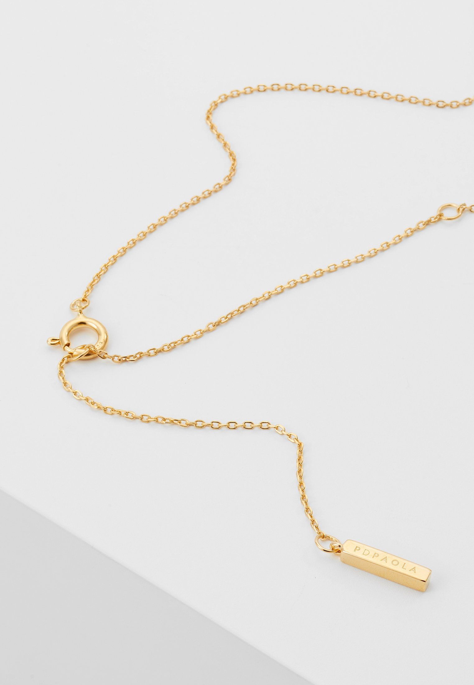 P Letter D coloured NecklaceCollier Gold Paola OPukZTXi