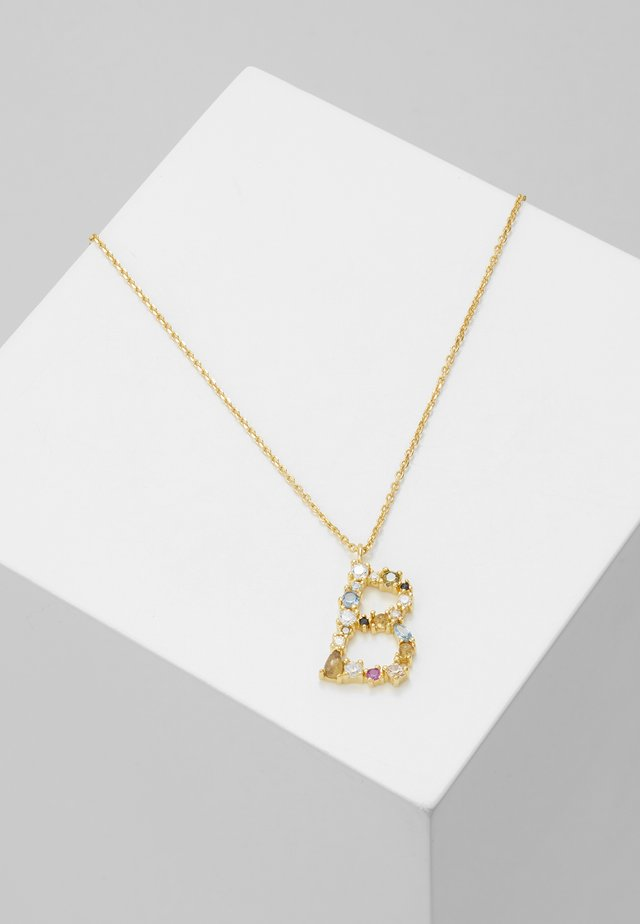 LETTER NECKLACE - Halskette - gold-coloured