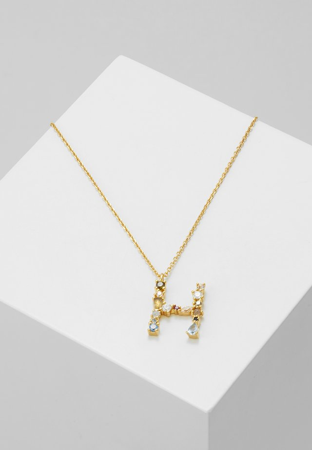 LETTER NECKLACE - Naszyjnik - gold-coloured