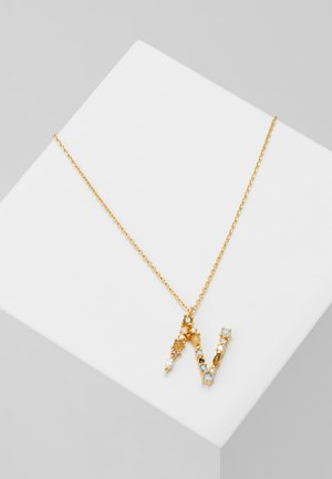 NECKLACE N - Collier - gold-coloured