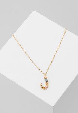NECKLACE J - Halsband - gold-coloured