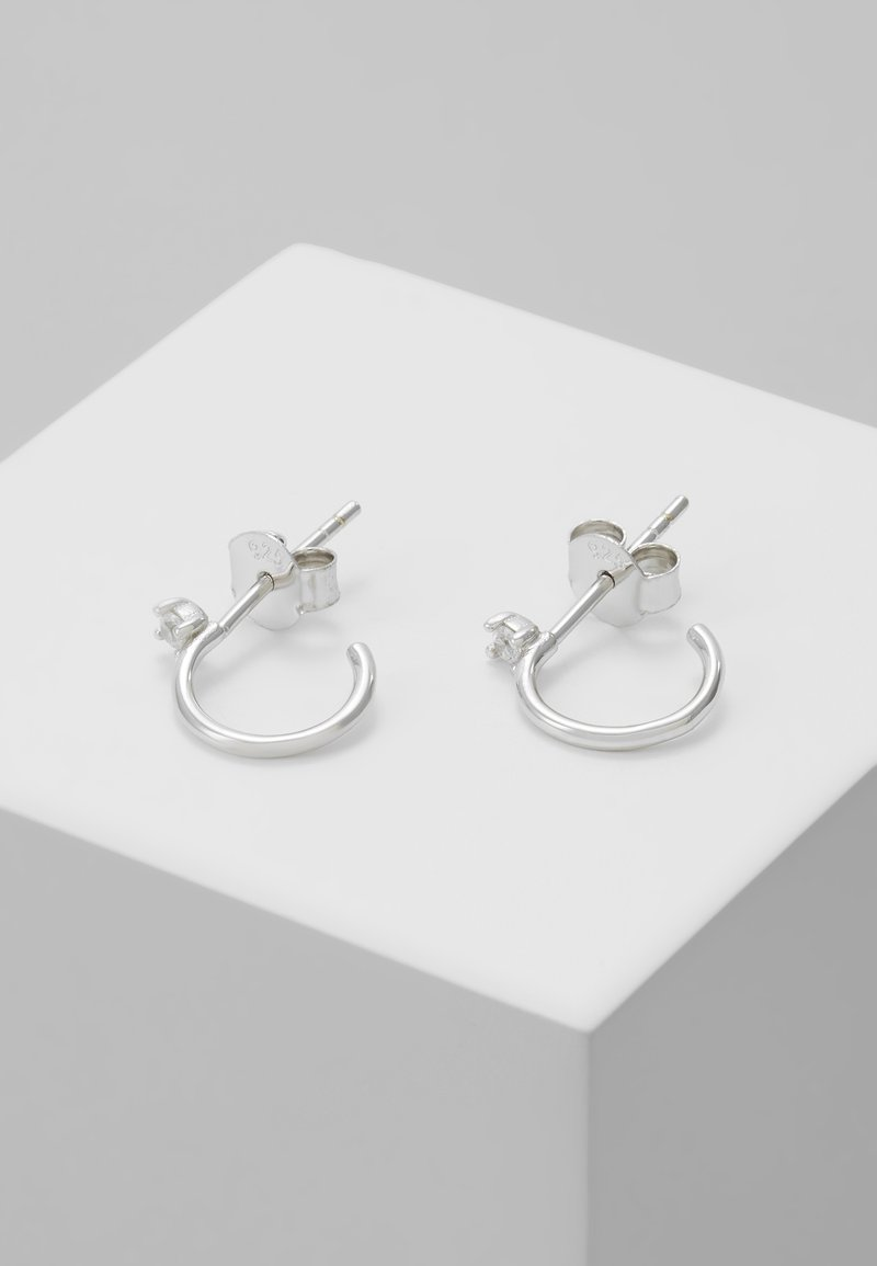 P D Paola - EARRINGS KITA - Ohrringe - silver-coloured