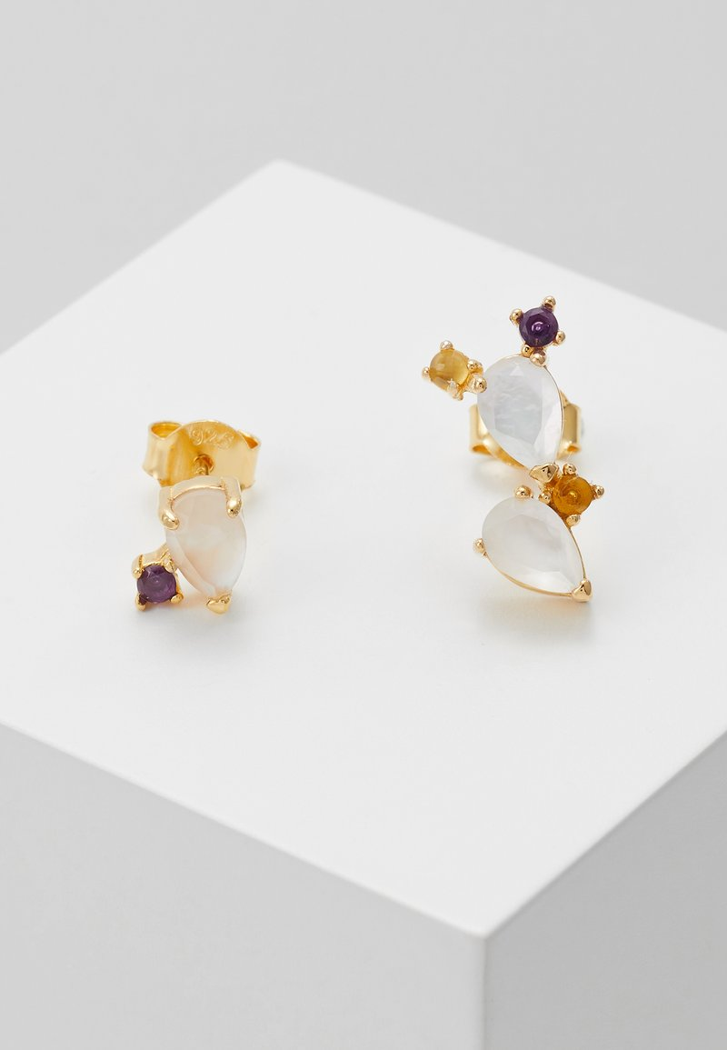 P D Paola - EARRINGS CITRIC PETITE SET - Earrings - gold-coloured
