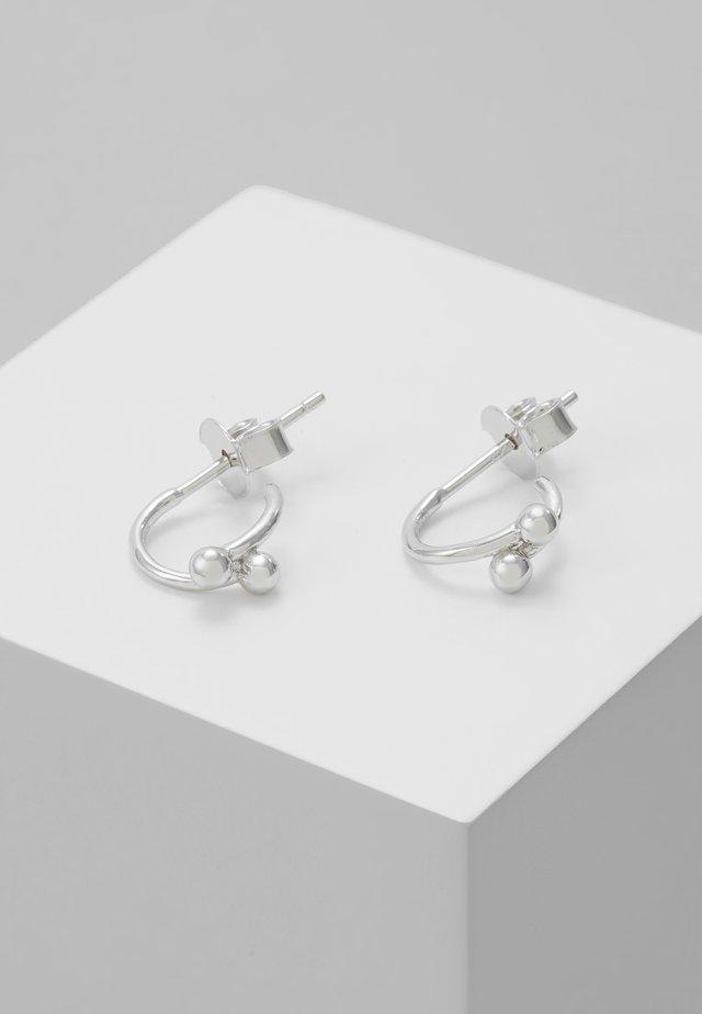 EARRINGS AURA - Örhänge - silver-coloured