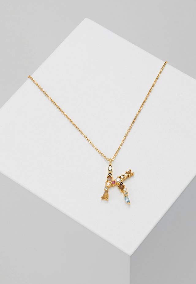 NECKLACE K - Necklace - gold-coloured