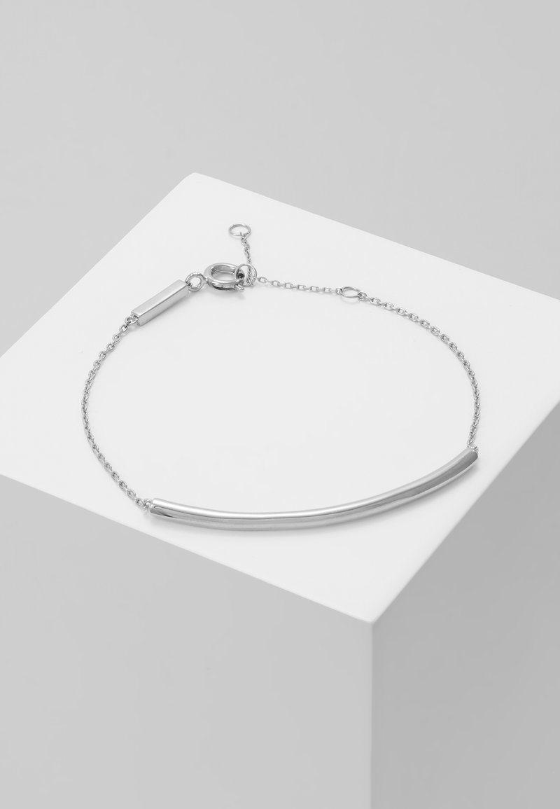 P D Paola - PULSERA ALPHA - Armband - silver-coloured